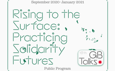 Oct 31 GB Talks | Rising to Surface: Practicing Solidarity Futures 관련 이미지